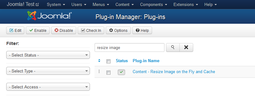 Joomla! Resize Image on the Fly and Cache   S2 Software